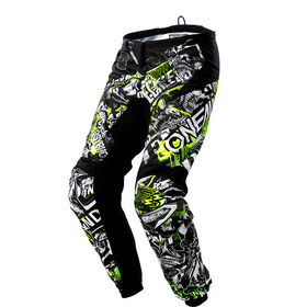 ONeal Element Pants Men ATTACK black/neon yellow